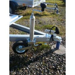 Opěrné kolečko přívěsného vozíku ST48/200VB